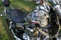 Skull bike finished di Gary Zuyus